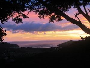 Nicaragua Sunset View